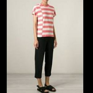 Tory Burch Birdseye Striped Top
